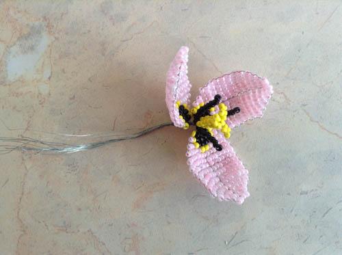 Сборка цветка тюльпана