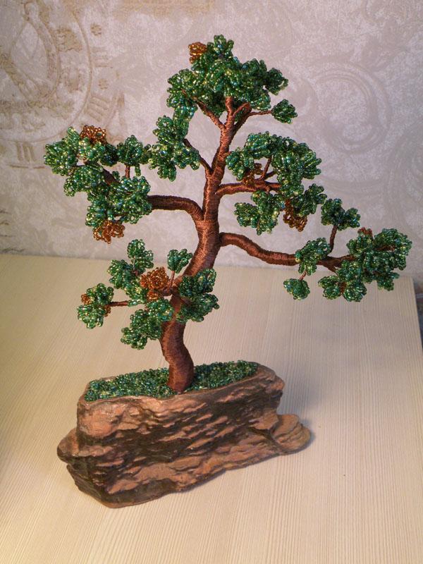 Как сделать дерево бонсай из.