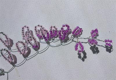 Скручиваем гроздь
