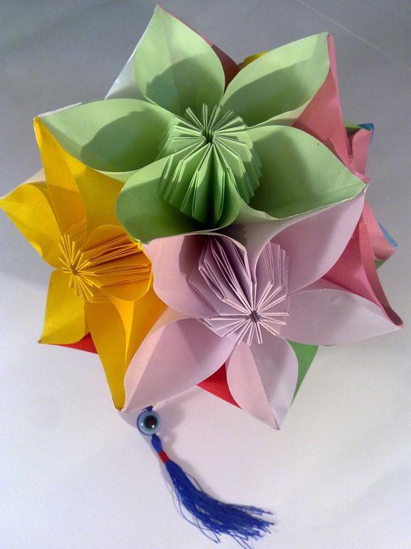 Цветочная кусудама
