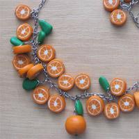 Апельсиновый браслет