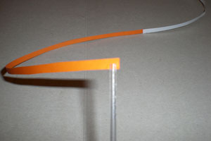 Дольки апельсинов из бумаги