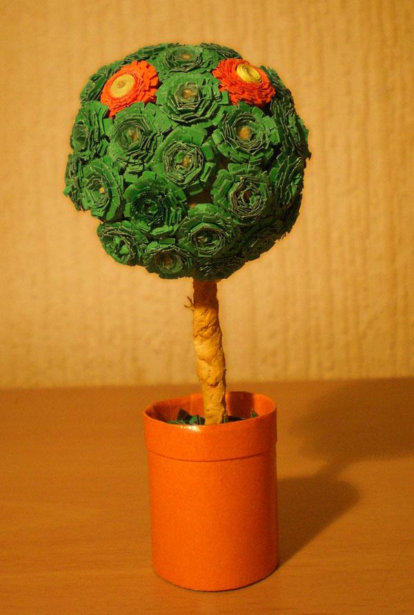 Бумажное дерево