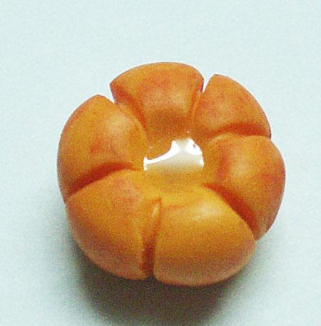 Создание тыквы из полимерной глины