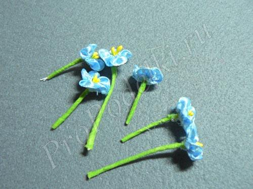 Формируем цветочки