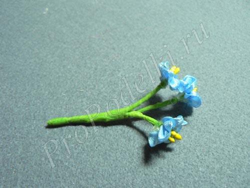 Собираем цветочки в букет