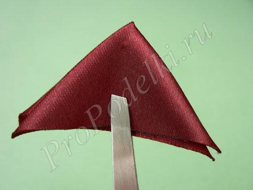 Складываем треугольник еще раз