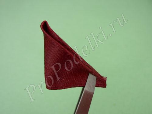 Треугольник из ленты