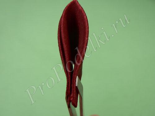 Острый лепесток для цветка канзаши