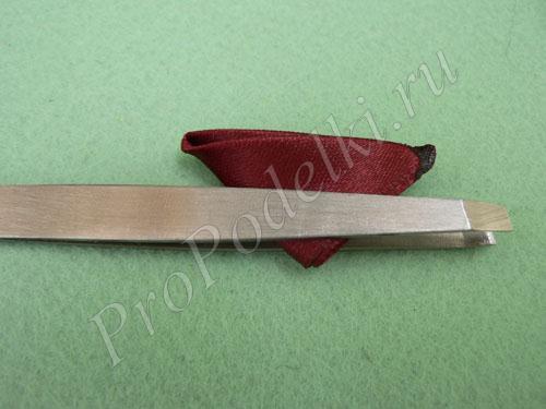 Часть лепестка подготовленная к обрезке