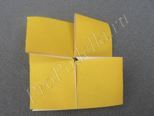 Готовая заготовка из ленты бумаги