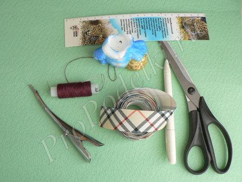Материалы и инструменты для канзаши