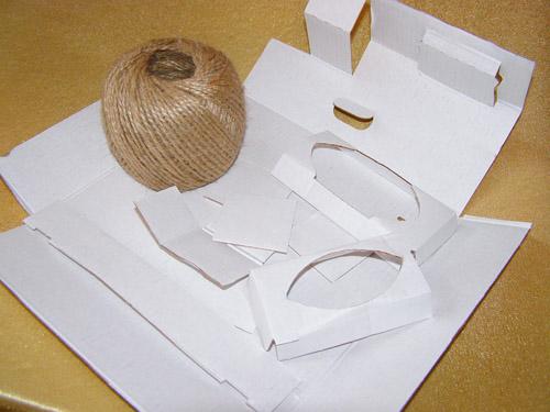 Материалы для изготовления елочных игрушек