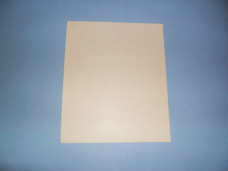 Прямоугольник из бумаги