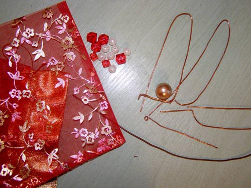 Материалы для изготовления стрекозы