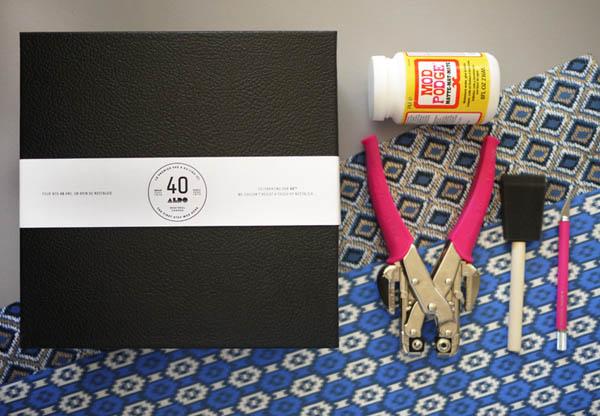 Материалы и инструменты для изготовления коробки
